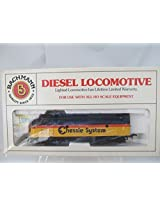 Bachmann Ho Scale Diesel Locomotive ( Chessie System 7071 Item # 42 615 09