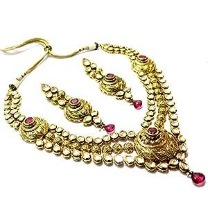 Daamak Jewellery Bridal Kundan Necklace