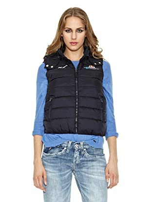 Pepe Jeans London Chaleco Plumas Race Gilet By Pjl (Azul)