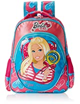 Barbie Pink and Blue Children's Backpack (EI-MAT0019)