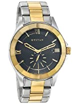 Titan Regalia Analog Black Dial Men's Watch - 1626BM02