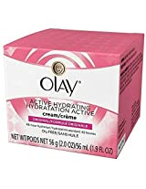 Olay Active Hydrating Cream 2 Oz 2 Pk