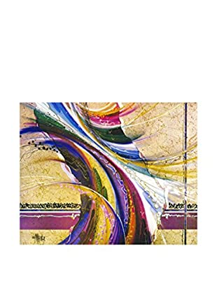 Legendarte Leinwandbild Colori Sul Marmo