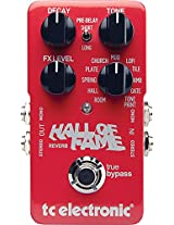 TC Electronic Hall of Fame Reverb Pedal, Red