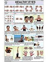 Healthy Eyes Yoga Chart (50x75cm)