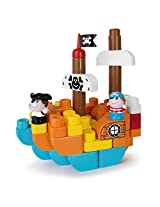 Chicco Treasure Island Toy Building Blocks, Multi Color
