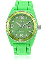 Adh6156 Green Analog Watch