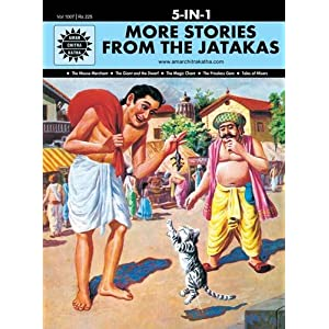 More Stories from the Jatakas: 5 in 1 (Amar Chitra Katha)