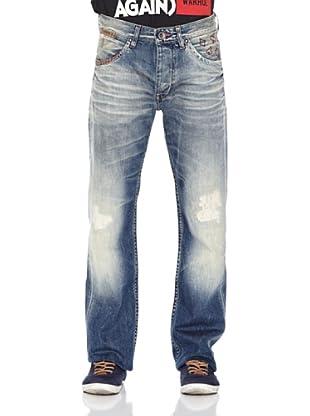 Pepe Jeans London Pantalón Vaquero Hotrod (Azul Medio)