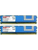 Komputerbay 8GB (2x 4GB) DDR2 PC2-6400F 800MHz ECC Fully Buffered FB-DIMM (240 PIN) 8 GB w/ Heatspreaders