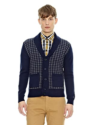 Merc Cardigan Temple (Blu Navy)