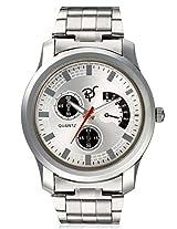 RICO SORDI Mens White Steel Watch_RSMW_S6