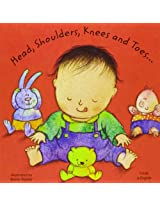 Head, Shoulders, Knees and Toes in Polish and English (Board Books)