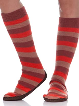 Springfield Calcetines Sleeper Stripes (marrón)