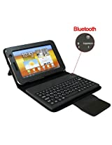 """Black Bluetooth Wireless Keyboard Case Cover With Stand For Samsung Galaxy Tab2 7.0 7.0 Inch GT-P3100 GT-P3110 P6200 By Ownshop"""""""
