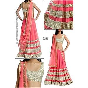 Narayani Bollywood Lehenga With Blouse - Pink