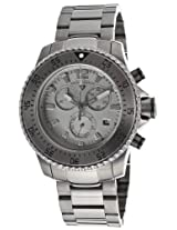 Sergeant Gunmetal Steel Chronograph Gray Dial (10063-Gm-104)