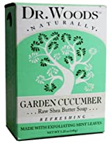 Dr. Woods Natural Soap Mint Cucumber 5.25 Ounce
