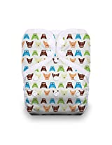 Thirsties One Size Pocket Diaper Snap, Hoot