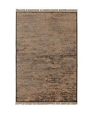 ABC Tappeti Teppich braun 60 x 120 cm