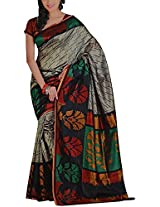 VAISHALI Women's Mysore Silk Saree With Blouse Piece (V062)