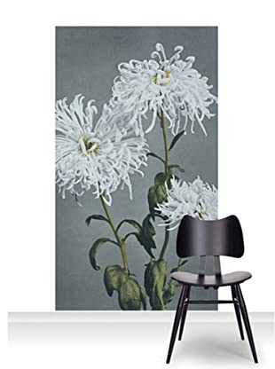 Victoria and Albert Museum Chrysanthemum Mural (Accent)