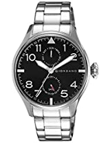 Giordano Analog Black Dial Men's Watch - 1719-11