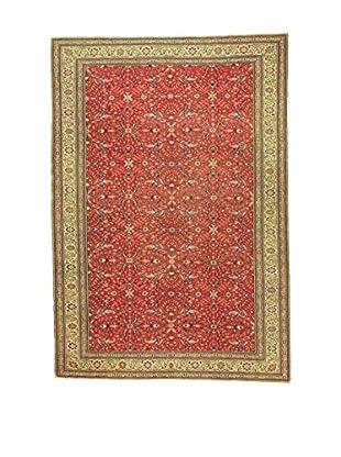 L'Eden del Tappeto Teppich V.Kayseri rot/lehmbraun 290t x t195 cm