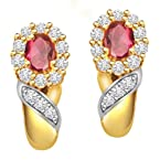 Surat Diamond 18K Yellow Gold Diamond Drop Earrings