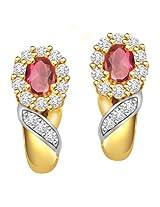 Surat Diamond 18K Yellow Gold Diamond Drop Earrings