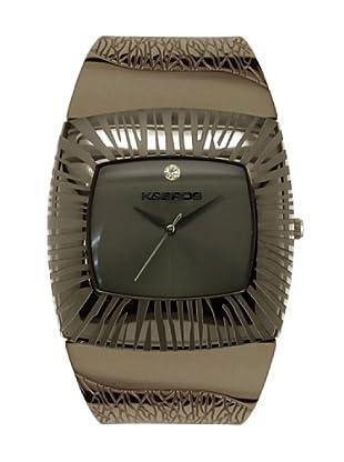K&BROS 9164-1 / Reloj de Señora  con brazalete metálico marrón