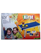 Kirat Children's Multipurpose Wooden Top Big (Folding Bed Table), Multicolor