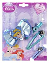 Disney Cinderella On Blue Bow Hair Accessories