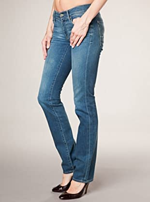 7 for all Mankind 5-Pocket Jeans W Vinta Straight Leg (dunkelbalu denim)