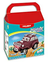 Paulinda Foam Model Jeep, Multi Color