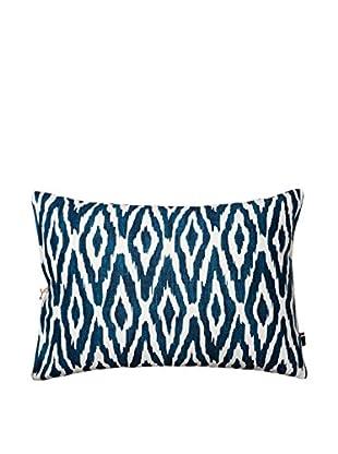 Tommy Hilfiger Ikat Cordillera Decorative Pillow, Blue