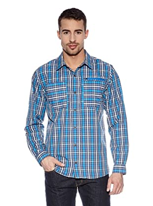 Th North Face Camicia M L/S Rambla Shirt (Blu)