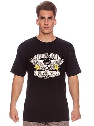 One Industries Camiseta H&H Sutter (Negro)