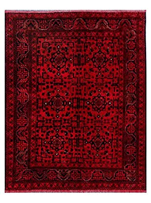Bashian Rugs Hand Knotted Beshir, Red, 5' x 6'' 4