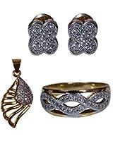 Dadu Diamonds Designer AD Stylish Jewelry Combo Pack