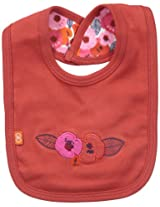 Magnificent Baby Baby-Girls Poppie Print Reversible Bib