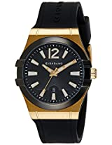 Giordano Analog Black Dial Men's Watch - 1749-04