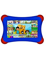 "Visual Land Prestige PRO 7D FamTab - 7"" Dual Core 8GB Family Tablet with Google Play and Safety Bumper (Royal Blue)"