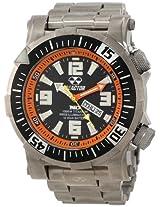 REACTOR Men's 54008 Poseidon Ti 1000M Titanium Quartz Watch