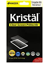 Amzer Kristal Clear Screen Guard Scratch Protector Shield for ASUS Zenfone 5 A501CG