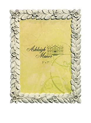 Ashleigh Manor Leaf & Floral Border Photo Frame