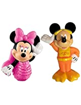 Disney Mickey Mouse Clubhouse: Mickey Minnie Bath Squirters Bundle