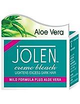 Jolen Aloevera Mild Bleach (For Sensitive Skin) - 250 gm