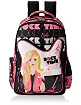 Simba 45 litres Black and Pink Children's Backpack (St-Slrt-2009-18)