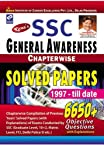 SSC General Awareness Chapterwise Solved papers 6650+ Objective Questions (English)